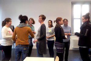 Photo of coaching workshop