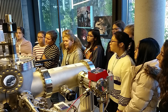 Photo of Day for Female Researchers