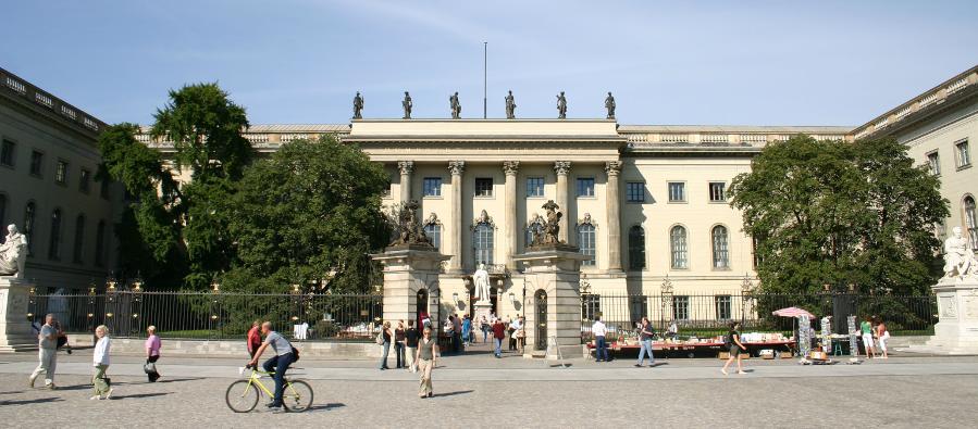 Decorative photo of the main building of Humboldt-Universität zu Berlin