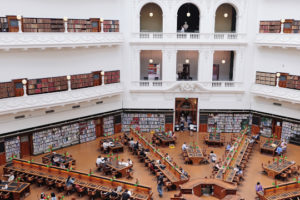 Decorative image of reading room