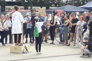 Photo of Soapboax Science event