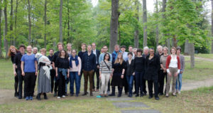 Group photo from RTG 2190 retreat
