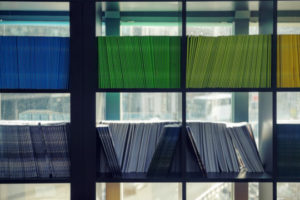 Decorative image of bookcase