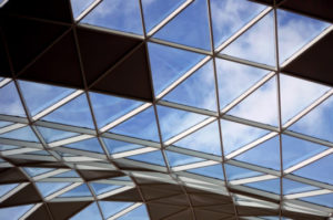 Decorative photo of glass ceiling
