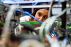 Decorative photo of scientist working