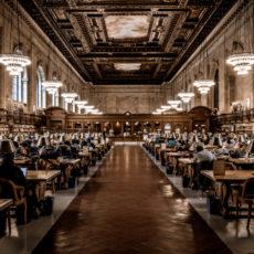 Decorative photo of university library