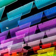 Decorative abstract photo in multicolor