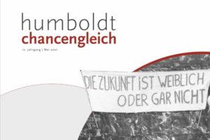 Screenshot of cover of Humboldt Chancengleichheit 2021